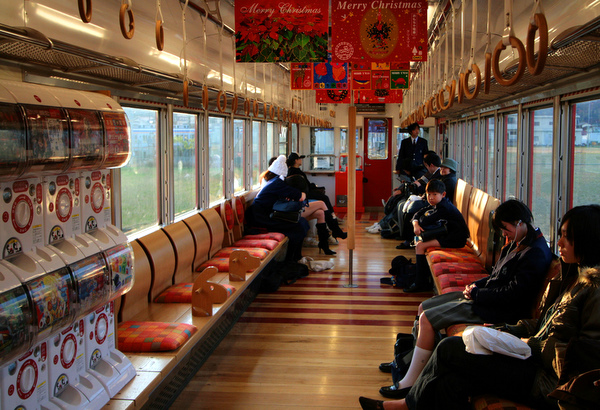 gachapon train